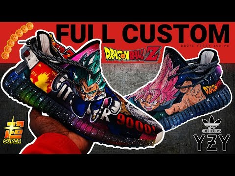 Full Custom DBZ/SUPER YEEZY V2