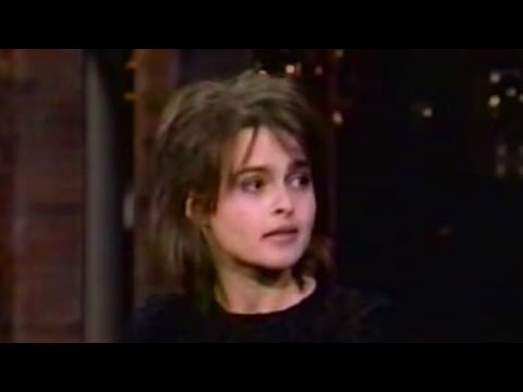Helena Bonham Carter on David Letterman - 1996