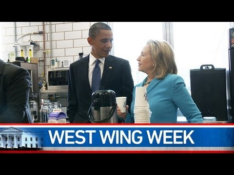 West Wing Week: 5 19 11 or The Commencement at Booker T
