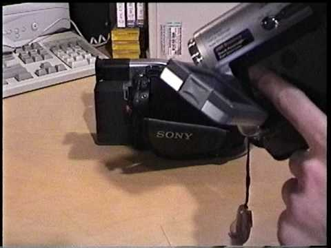 Sony DCR-TRV19 MiniDV camcorder overview & test