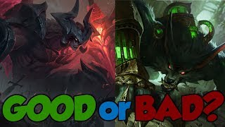 League of Legends Reworks Ranked Best to Worst