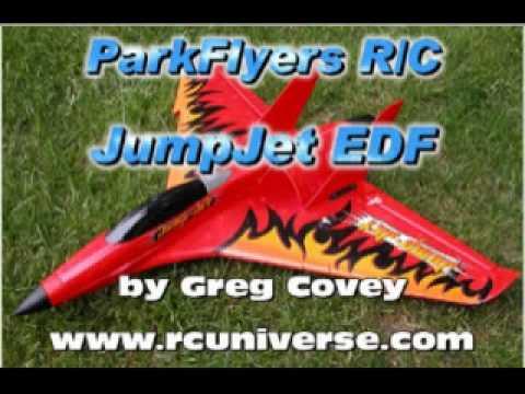 ParkFlyers R/C Jump Jet RTF EDF