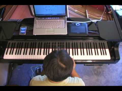 Clair de lune from scratch: Piano Lesson #3 - The First Measure Music Videos