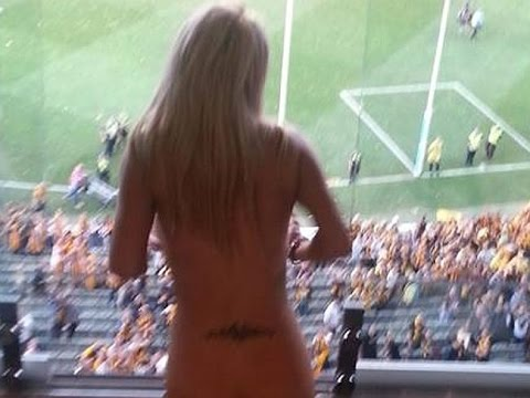 Drunk Stripper Arrested at AFL Grand Final Match for Getting Naked