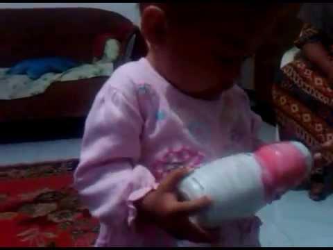 bayi kecil sany mainan bedak youtube