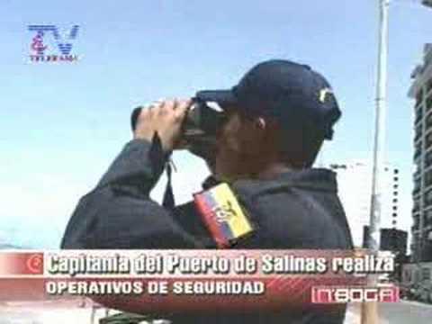 Capitania del puerto de Salinas realiza operativos