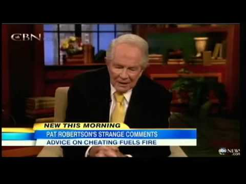 Pat Robertson Under Fire For Advice About Cheating Husband video