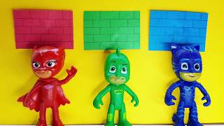 PRO Toys and Learn with Pj masks kids Wrong Costume and mask from wooden box toys for kids