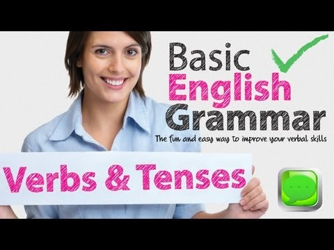 English Grammar Lessons - Verbs and Tenses | Learning English Lessons Music Videos