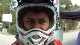 03 giugno   Impressioni a caldo da Filippo Ciotti a fine speciale di oggi   Sardegna Rally Raid 2013