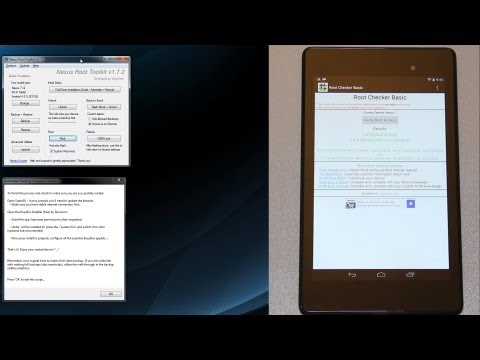 How To Unlock and Root the Google Nexus 7 v2 (FHD 2013 Edition)