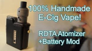 DIY | How to Make E-Cigarette at Home - Atomizer + Mod