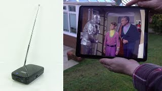 WiFi Digital TV tuner for tablet/phone - REVIEW
