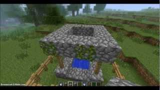 Как создать статую крипера в minecraft