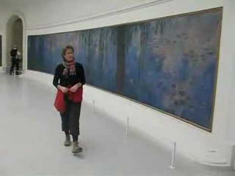 Paris, Gerda and the waterlilies of Monet