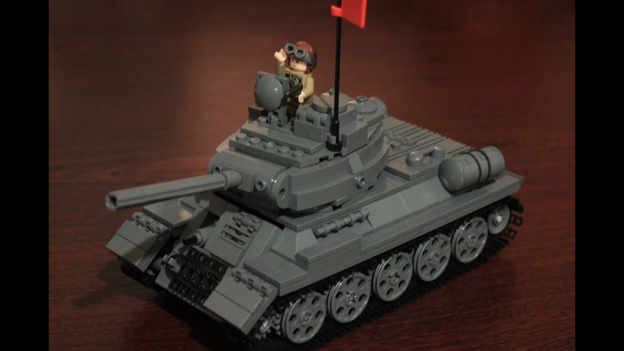 Lego Военная Академия /Lego Military Academy #3 (Tank T-34-85...