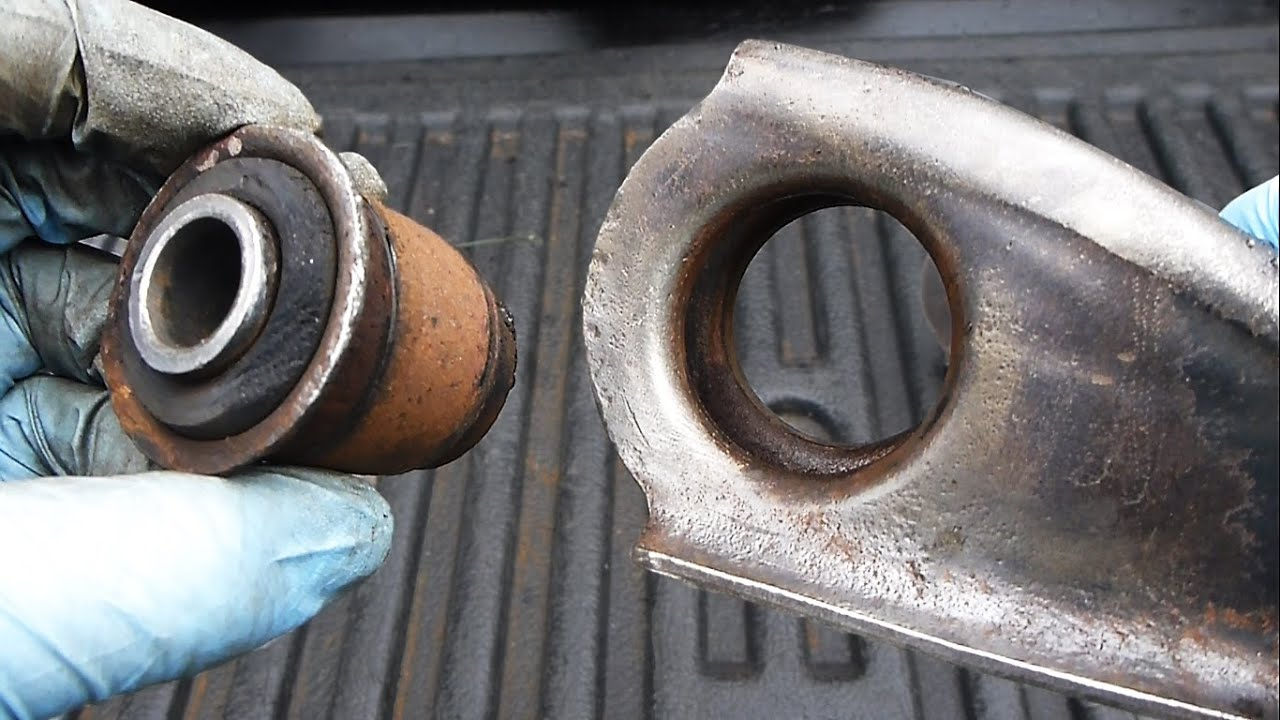 How to Replace Control Arm Bushings (EASY) - YouTube