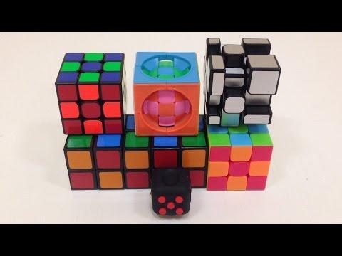Большой анбоксинг шести кубов. Weilong GTS 2 и выигрышный куб