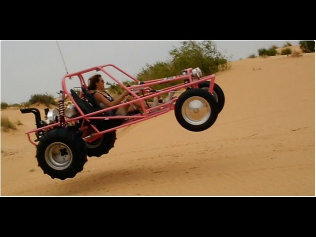 Racing a Dune Buggy in the Las Vegas Desert