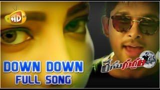 Race Gurram ᴴᴰ Video Songs | Down Down Duppa Full Song | Allu Arjun | Shruti Haasan | S Thaman