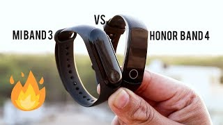 Mi Band 3 VS Honor Band 4 Hindi Comparison