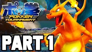 Pokken Tournament Gameplay Walkthrough Part 1 FULL GAME - Single Player / Campaign!! (1080p Wii U)