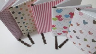 Diy : #27 Mini Notebook ♥
