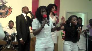 FG Inspirational Choir / Be Thou Exalted O God - Led By Sister Abigail / 2012 /.MP4