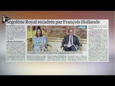 Ségolène Royal dément avoir été «recadrée» par François Hollande
