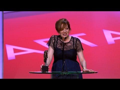 Katherine Parkinson wins a BAFTA -  The British Academy Television Awards 2014 - BBC One