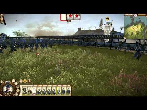 Shogun 2 Fall of Samurai Campaign Satsuma Part 1 HD The Beginning