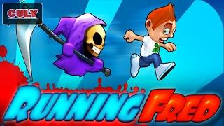 Chơi chạy trốn thần chết Running Fred chạy lụm vàng cu lỳ chơi game bình luận vui funny gameplay