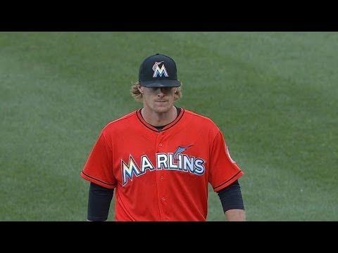 MIA@WSH: Tom Koehler fans six, allows two runs