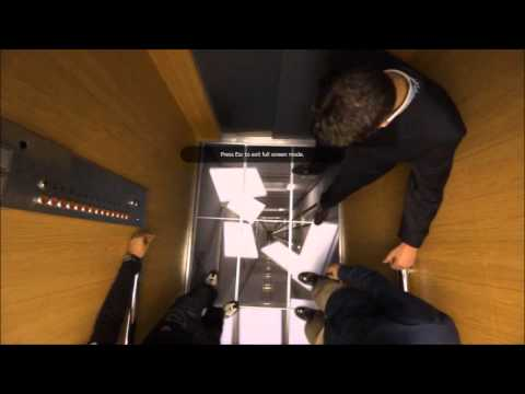 LG Elevator Prank Video - So Fake It's Scary