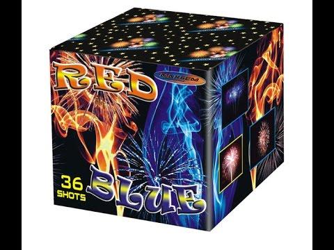 """Салют """"Red Blue"""" MC150-36 купить на skyfire.kiev.ua"""