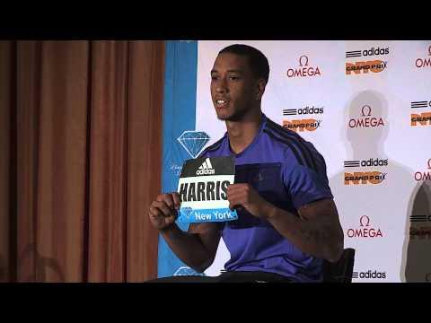 Adidas Grand Prix Press Conference