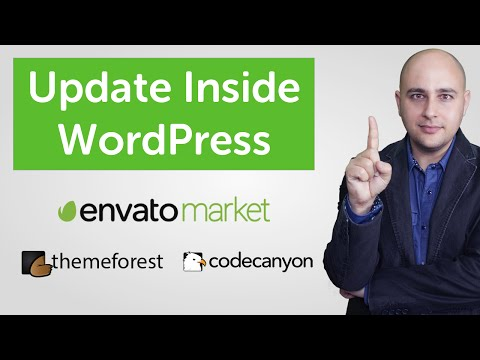 How To Update Theme Forest WordPress Themes & Codecanyon Plugins