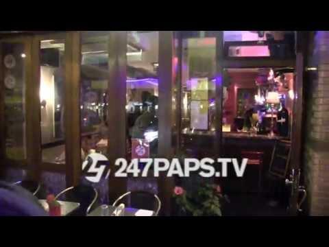 (BrandNew) Rihanna rocking Clear glasses at Da Silvano Restaurant NYC 10-20-14