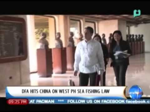 NewsLife: DFA hits China on West Philippines Sea fishing law || Jan. 10, '14