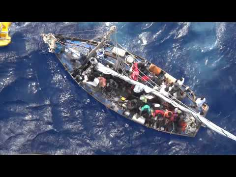 Royal Caribbean Rescue Haitian Refugees August 2012 - Allure of the Seas - Part 4