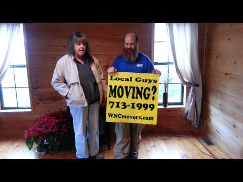 Asheville Moving Company: Fairview, NC to downtown near kemnilworth inn Apartments