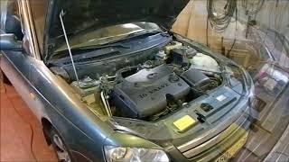 Пропуски в работе двигателя приоры. Причина банальна.