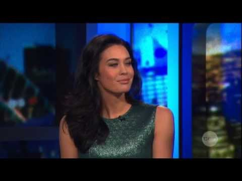 Megan Gale on The Project (2013)