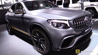 2018 Mercedes AMG GLC63 4Matic+ Coupe Edition 1 - Walkaround - 2017 Frankfurt Auto Show