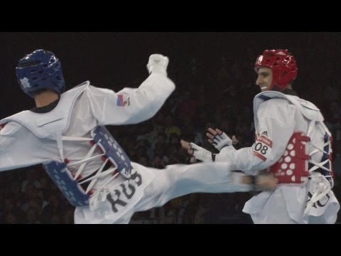 Taekwondo Men -58kg Bronze Mdl Finals - Full Replay -- London 2012 Olympic Games