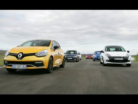 Track Battle : Renault Clio RS family + Williams (Motorsport)