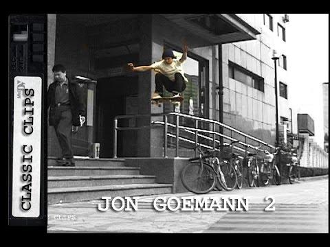Jon Goemann Skateboarding Classic Clips #163 Part 2