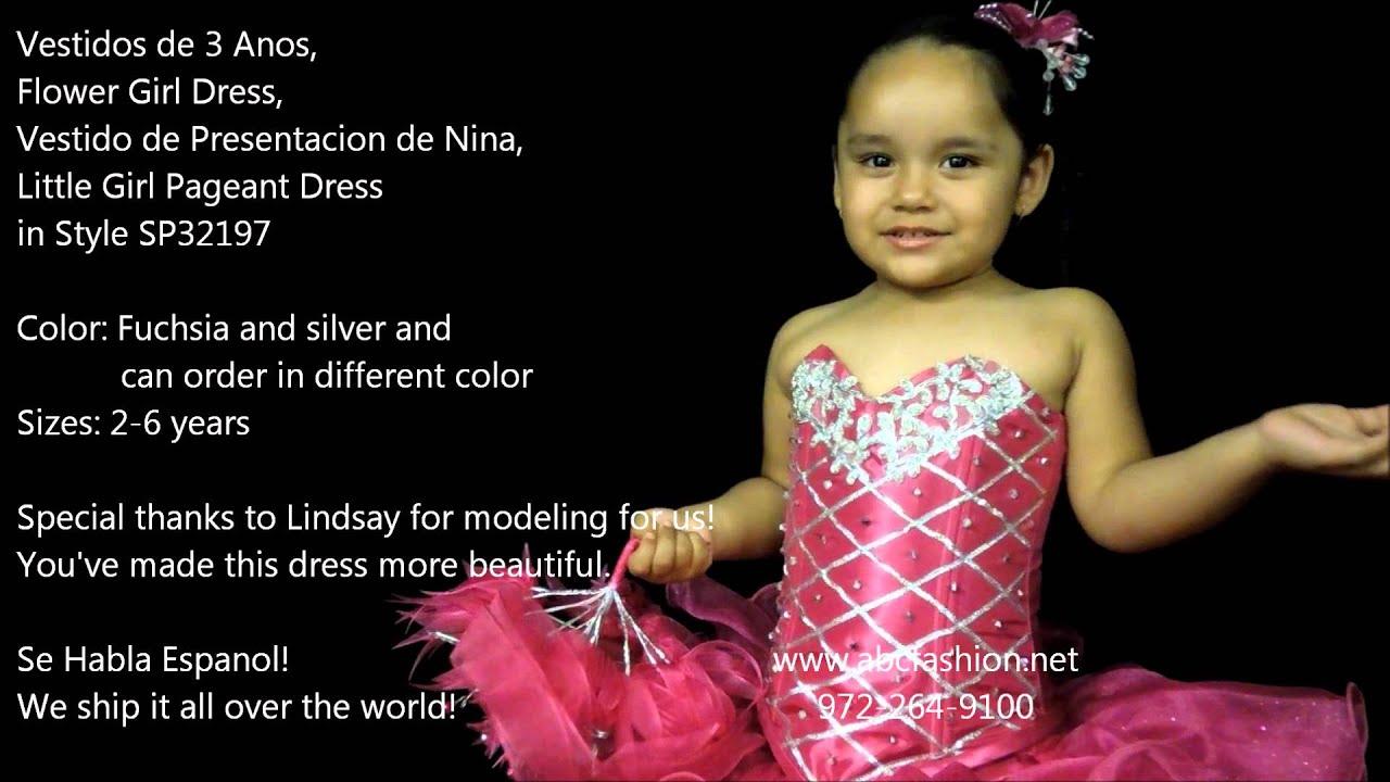 Vestidos De Presentacion De Tres Anos