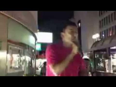 山本太郎@福島駅 9/13 南相馬の訪問後【低画質・音とび】