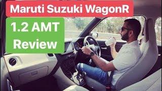 2019 Maruti Suzuki WagonR 1.2L AMT Drive Review (Hindi + English)